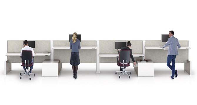 De indeling van een kantoorruimte designkantoormeubilair blog for Kantoorruimte