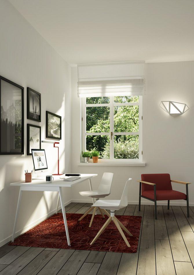 Maak van uw kantoor een oase van rust en licht