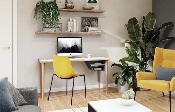 5 tips voor de inrichting van het ideale kantoor aan huis