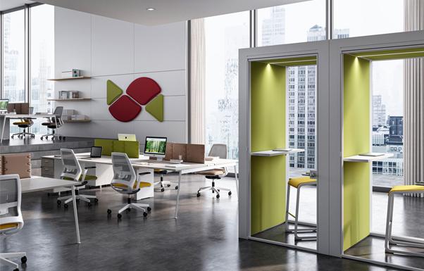 7 manieren waarop de kantoorinrichting effect heeft op de productiviteit