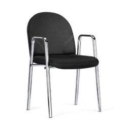 Bezoekersstoel Baseline zwart