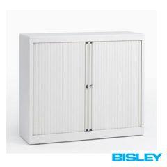 Roldeurkast Basic Bisley H69,5 x B120cm wit