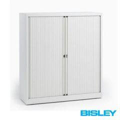 Roldeurkast Basic Bisley H133,3 x B120cm wit
