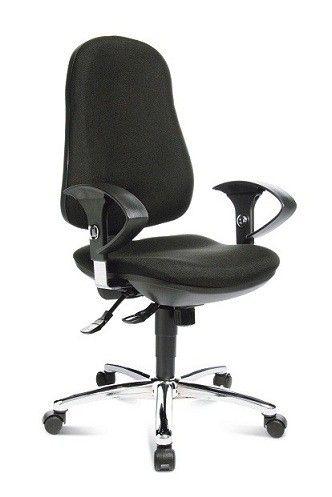 Bureaustoel Met Rubberen Wielen.Bureaustoel Topstar Bundy Designkantoormeubilair Nl