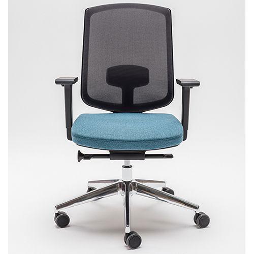 Bureaustoel Met Rubberen Wielen.Bureaustoel Janna Designkantoormeubilair Nl