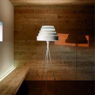 Design vloerlamp wit