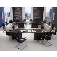 Grote vierkante vergadertafel