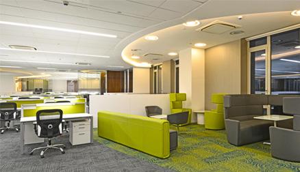 Ontvangstruimte kantoorruimte