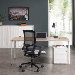 Bureau Lima Eiken / Wit