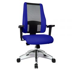 Bureaustoel Air Syncro blauw